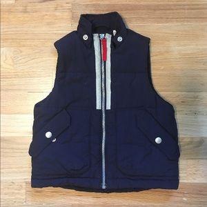 Falls Creek navy blue toddler boy puffer vest.